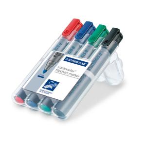 STAEDTLER Lumocolor Flipchart-Marker - 2 mm - 4er Box