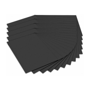 URSUS Fotokarton DIN A4 - 300 g/m² - schwarz - 50 Blatt