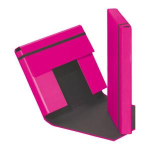 Heftbox A4 3 Klappen + Gummizug d-rosa