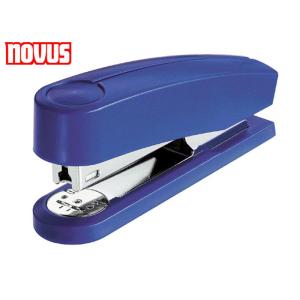 NOVUS Heftgerät B2 Oberlader 25Blatt blau