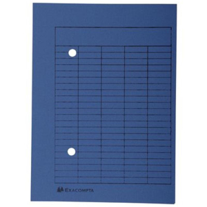 Falken Umlaufmappe - DIN A4 - blau - 100 Stück