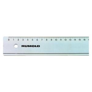 Rumold Lineal - Kunststoff - 20cm lang - transparent