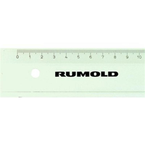Rumold Schullineal - Kunststoff - 30cm lang