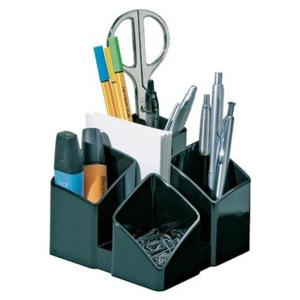 HAN Schreibtischköcher SCALA, schwarz