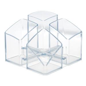 HAN Schreibtischköcher SCALA, glasklar