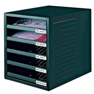 HAN Schubladenbox SCHRANK-SET, schwarz