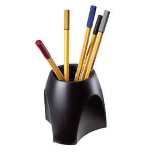HAN Stifteköcher DELTA, schwarz