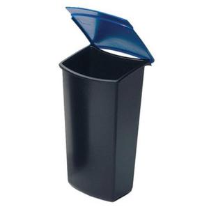 HAN Abfalleinsatz MONDO, schwarz/blau