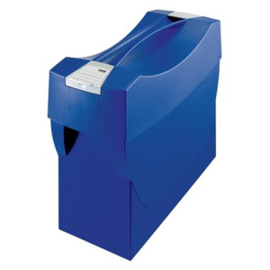 HAN Hängemappenbox SWING-Plus, 39,7x15,4x34,7cm, blau