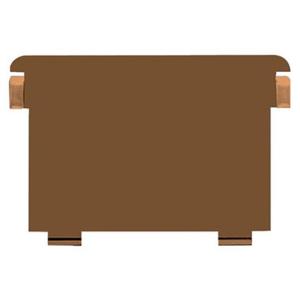 HAN Stützplatte DIN A5 quer, braun