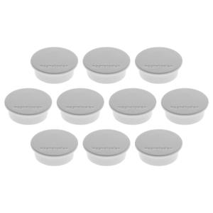 magnetoplan Magnete Discofix Color in grau, Durchmesser:...