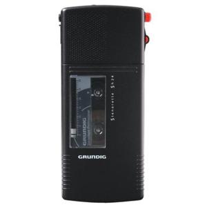 Grundig Diktiergerät Sh 24, analog, deep black