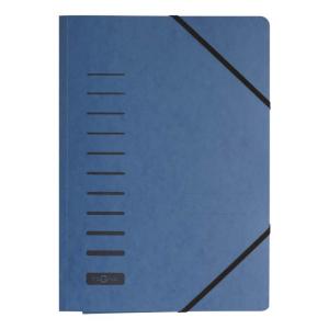 Eckspanner A4 blau 24007