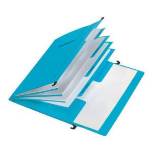 Personalakte Hängemappe 5 Fächer blau