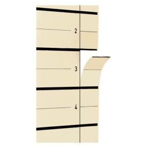 Pagna Trennblätter A4, 24x30cm, beige PG/10St