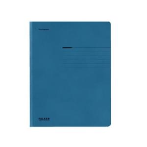 Falken Einschlagmappe A4, RC-Karton 320g, blau