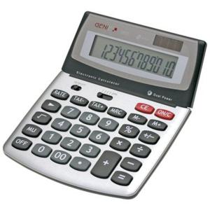 Genie Tischrechner 560T, 16x20x3,5 cmm