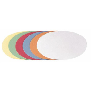 FRANKEN Kommunikationskarten, 11x19cm, Form oval, PG=250ST