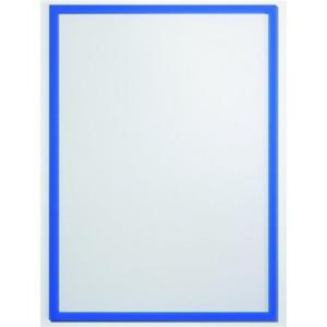 Ultradex Infotaschen magnethaftend, A4, PG=5ST, blau