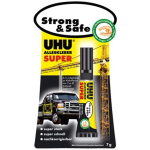 UHU Alleskleber SUPER Strong & Safe 7g
