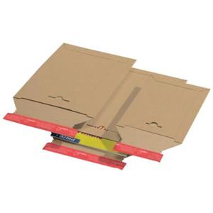 Versandtaschen A4, Karton braun, Außen-/Innen 20...
