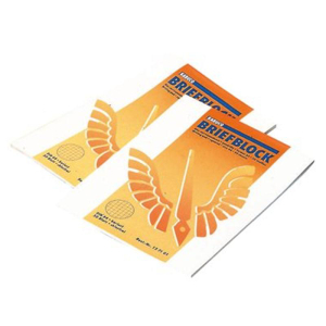 KABUCO Briefblock blanko - DIN A4 - 50 Blatt - 70 g/m²
