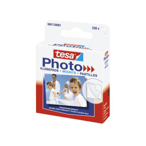 tesa Photo Klebepads - doppelseitig klebend - Packung =...