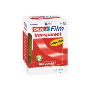 tesa tesafilm Office Box - 66 m x 25 mm - transparent - 6...