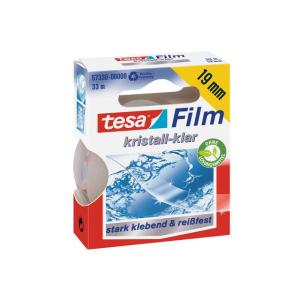 tesa tesafilm Kristall-Klar - 33 m x 19 mm - transparent