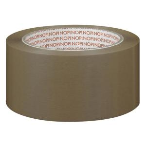 NOPI Packband NOPI PVC, 50mmx66m, braun