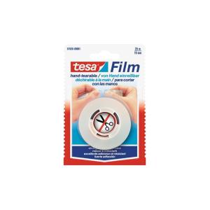 tesa tesafilm - von Hand einreißbar - 25 m x 19 mm...