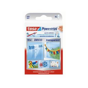 tesa Powerstrips Deco - 16 Stück - 15 x 81 mm -...