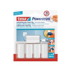 tesa Powerstrips Kabel-Clip - 5 Clips