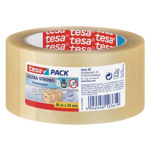 tesa tesapack Verpackungsklebeband Ultra Strong PVC - 66...
