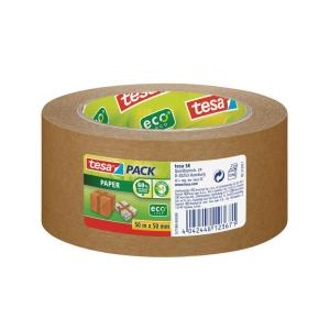 tesa tesapack Verpackungsklebeband Paper ecoLogo - 50 m x...