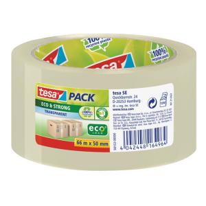tesa tesapack Verpackungsklebeband Eco & Strong - 66...