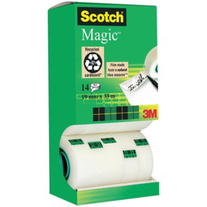 Scotch Klebeband Magic Unsichtbar 810, 33m x 19mm