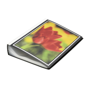 FolderSys Sichtbuch DIN A4, 100 Hüllen, A4 PP schwarz