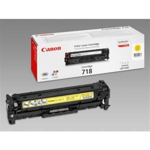 Canon 718Y Original Lasertoner - yellow