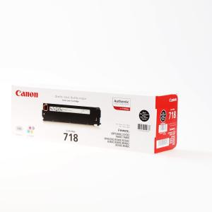 Canon 718BK Original Lasertoner - black