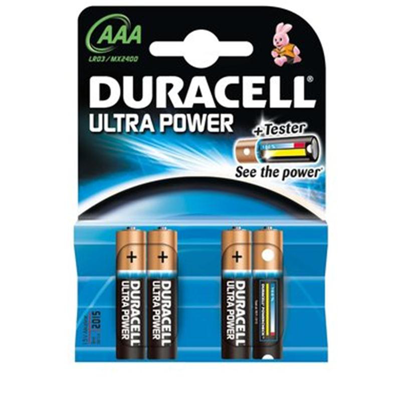 DURACELL Batterie Ultra Power, Micro 1,5 V
