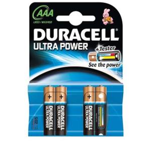 DURACELL Batterie Ultra Power, Micro 1,5 V