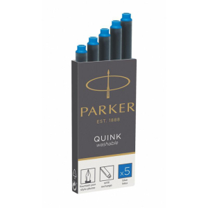 Parker Tintenpatrone Quink Z44, königsblau,...