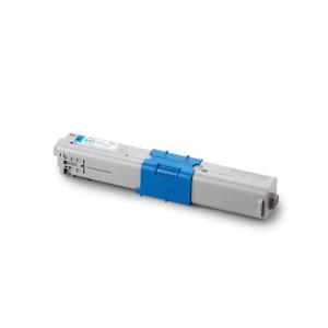 OKI 44469706 Original Lasertoner - cyan