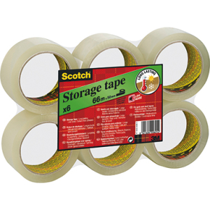 Scotch Packband 309, 50mm/66m, transparent