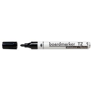 Legamaster Boardmarker TZ 1, Rundsp., 1,5-3mm, schwarz