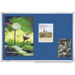 Legamaster Pinboard UNIVERSAL Textil, 150 x 100 cm, Grau