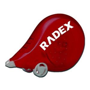Radex Korrekturroller Scooter, 4,2mm breit, Bandfarbe