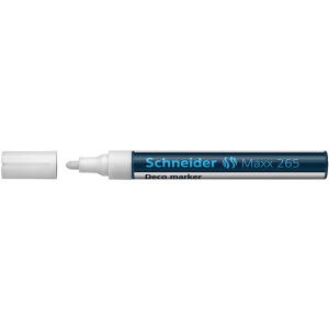 Schneider Decomarker Maxx 265 weiß