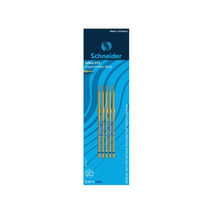 Schneider Kugelschreibermine 575 M blau, 5 Stück